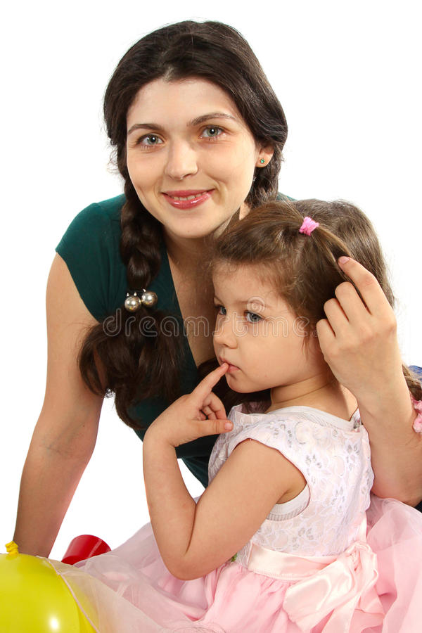 Download Beautifu Mother And Daughter Stock Images - Image: 15573774