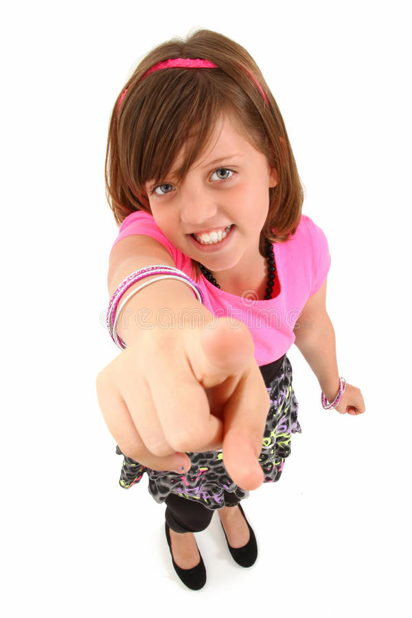 Download Beautiful 10 Year Old Girl stock photo. Image of girl - 16041332