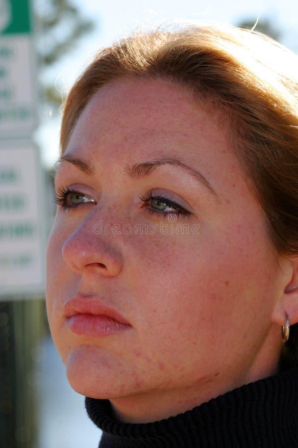 Download Beautiful stock photo. Image of woman, close, portrait, lips - 53004