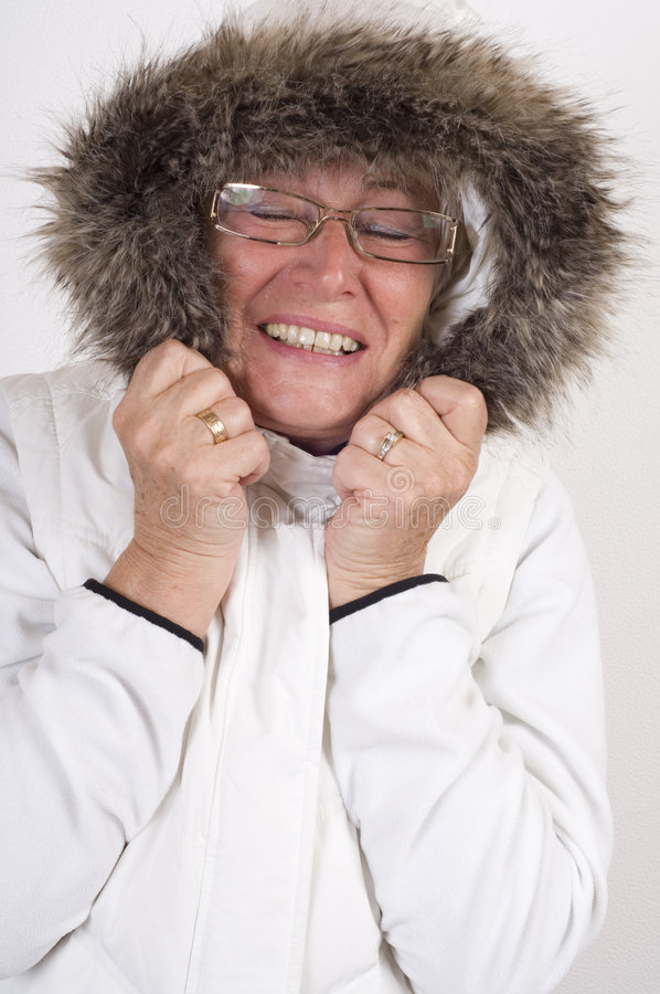 Beautiful 55+year old woman stock images