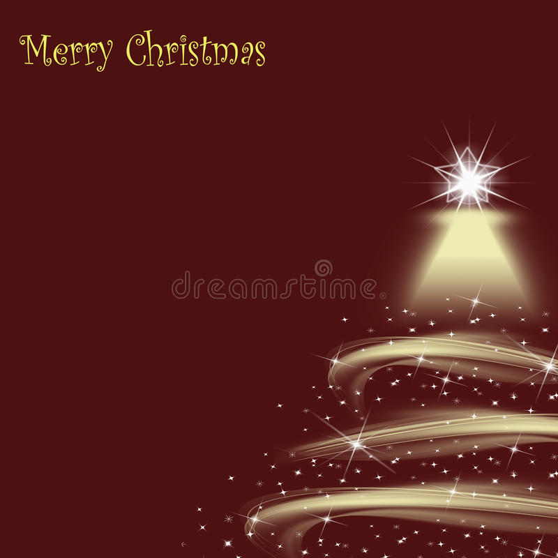Beautiful abstract background of Christmas lights royalty free stock photo