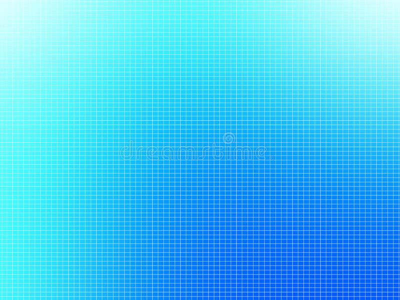 Abstract blue background. Grid, lines and gradients stock photo