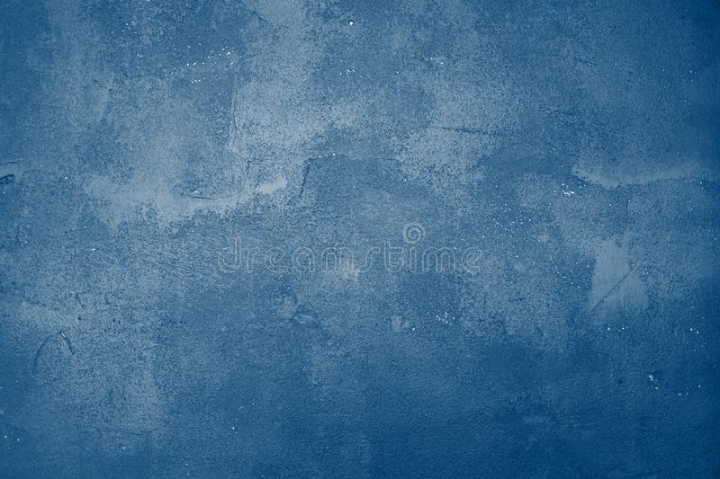 Beautiful abstract classic blue grunge decorative navy dark wall background. Art rough stylized texture banner With space for text stock photo