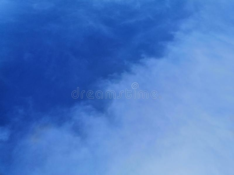 Beautiful abstract clouds blue sky landscape background and wallpaper art stock images