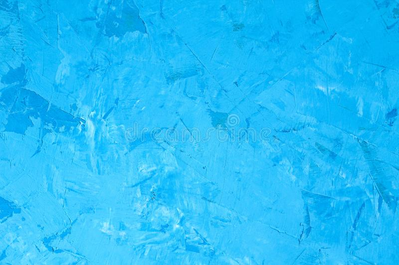 Beautiful Abstract Grunge Decorative Blue Cyan Painted Stucco Wall Texture. Abstract Grunge Decorative Blue Cyan Painted Stucco Wall Texture royalty free stock photo