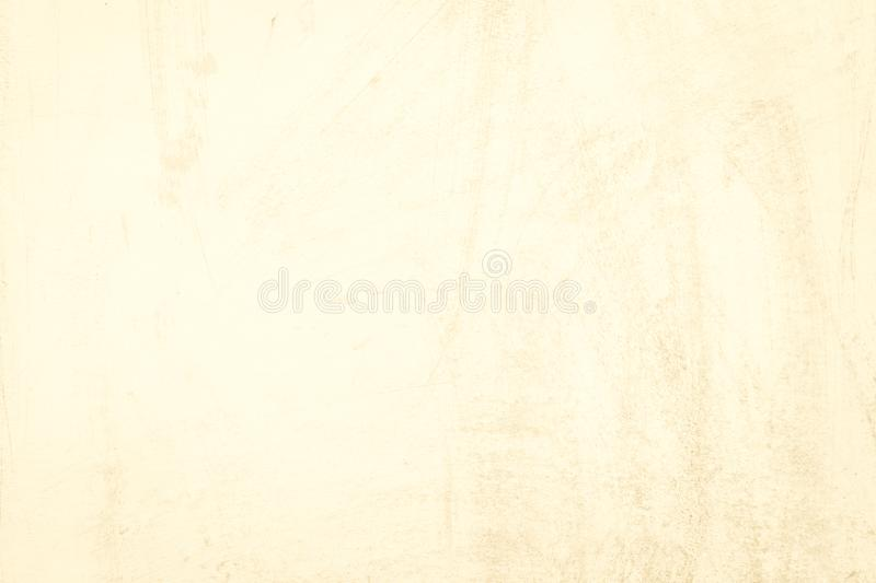 Beautiful Abstract Grunge Decorative light yellow Stucco Wall Ba. Ckground. Art Rough Stylized Texture Banner royalty free stock photo