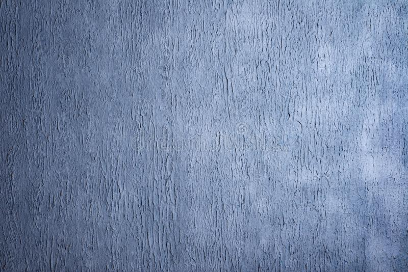 Beautiful Abstract Grunge Decorative Navy Blue Dark Stucco Wall Background stock image