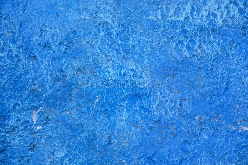 Beautiful Abstract Grunge Decorative Navy Blue Dark Stucco Wall Background. royalty free stock photo