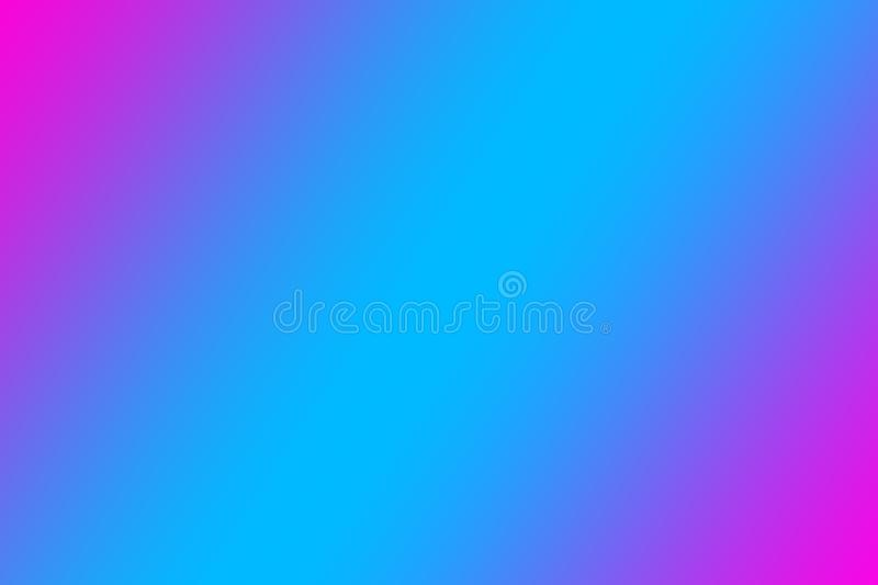Beautiful abstract neon glow, neon backgrounds. pink lilac blue gradient. royalty free illustration