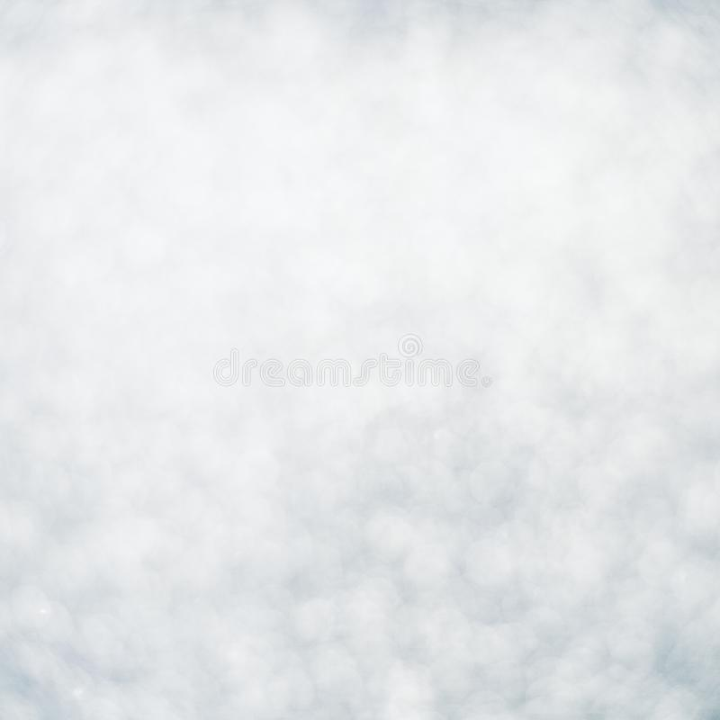 Beautiful abstract white and grey Bokeh Background. royalty free stock photo