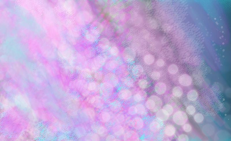 Beautiful abstract Winter decorations with blurred watercolor strikes and splashes. Overflowing in bright colors royalty free stock photos