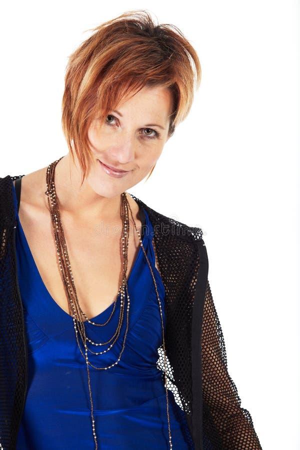Beautiful adult woman stock photos