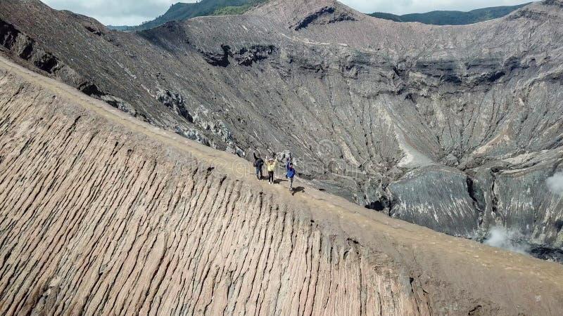 Beautiful adventure mountain ridge walkway stock photos