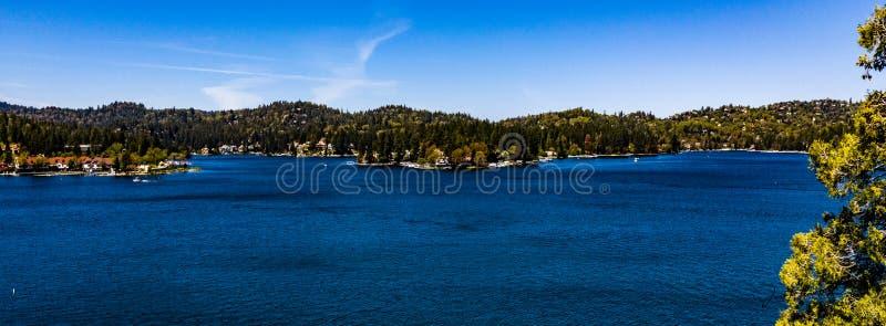 Beautiful, Aerial View Of Lake Arrowhead In The San Bernardino