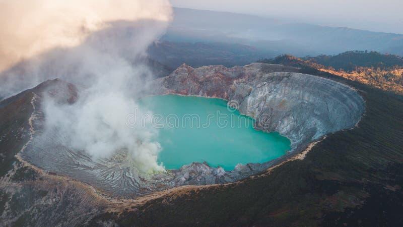 Beautiful aerial shot royalty free stock image