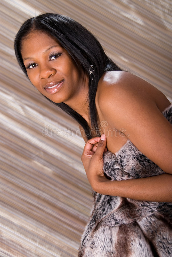 Beautiful African American wom stock photography