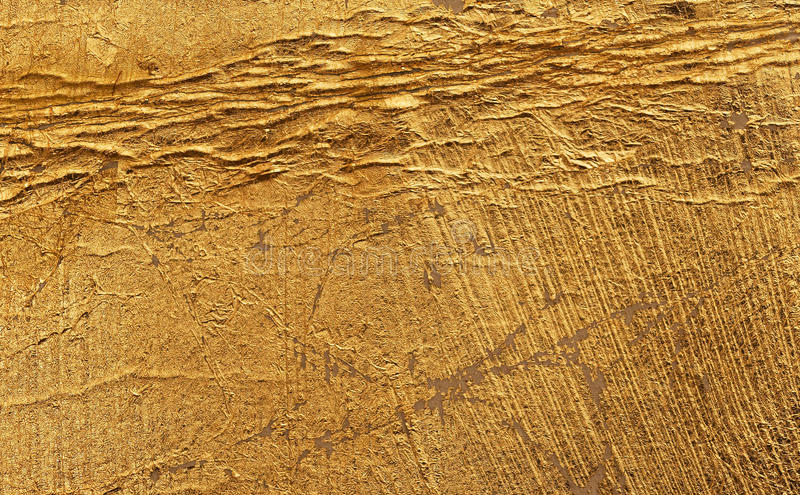 Download Beautiful Aged Golden Surface Stock Photo - Image: 83709011