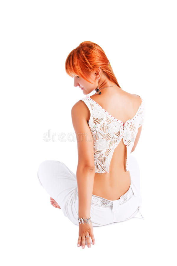 Download Beautiful Alluring Young Girl In Topic Stock Photo - Image: 12287588