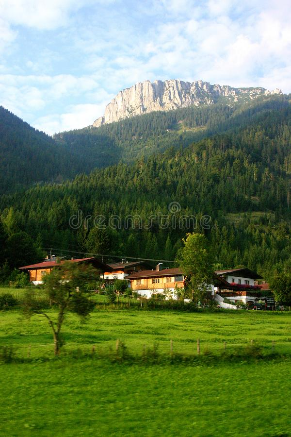 Beautiful Alps Stock Image