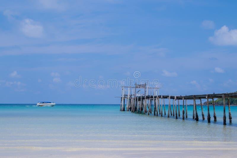 Beautiful amazing beach Bang-Bao Bay in Koh kood Island, Thailand. Beautiful amazing beach Bang-Bao Bay in  Ko Kut Island, Thailand royalty free stock photography