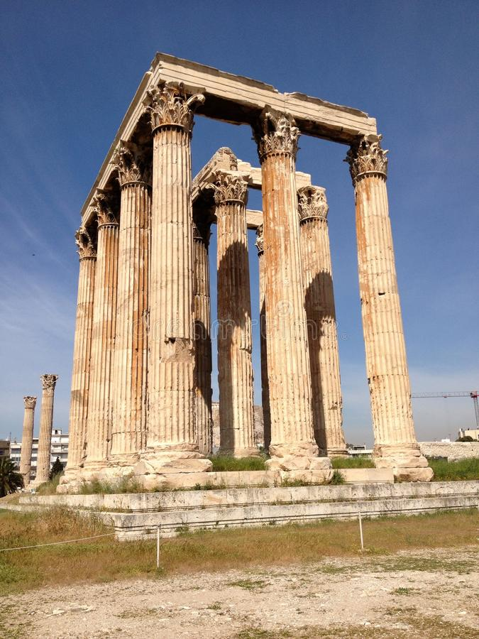 A beautiful ancient structure royalty free stock photography