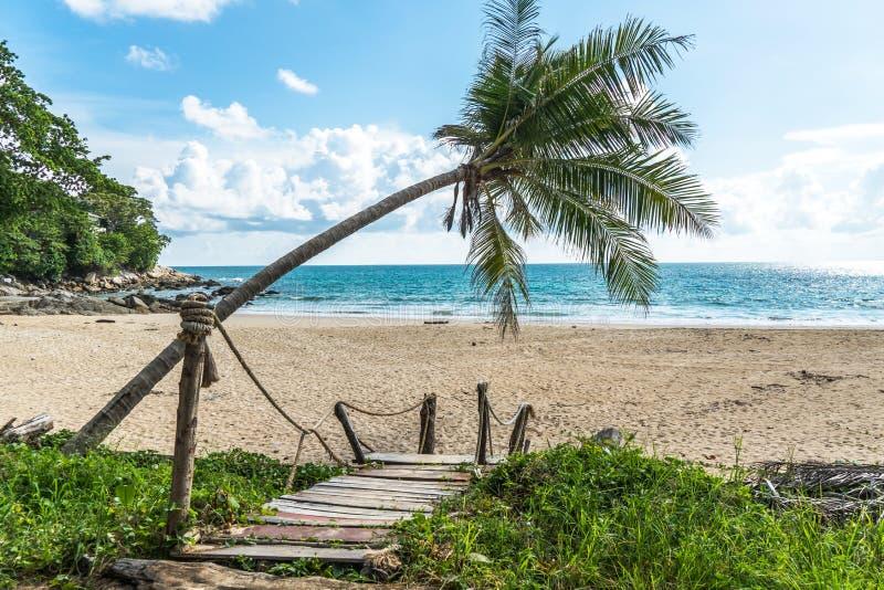 The beautiful andaman sea, bay and beach in Phuket Thailand.  royalty free stock photo
