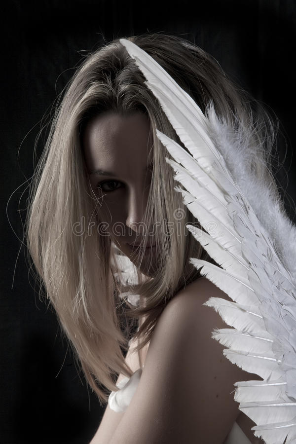 Download Beautiful angel stock image. Image of form, female, shape - 12821877