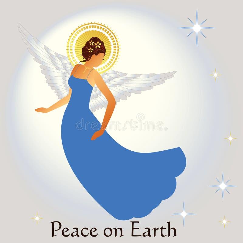 Beautiful Angel stock illustration