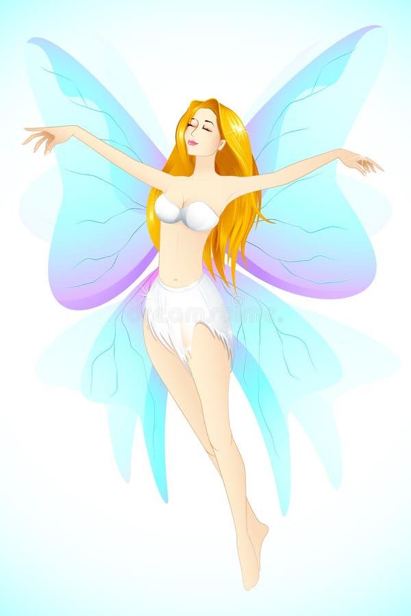 Beautiful Angel royalty free illustration