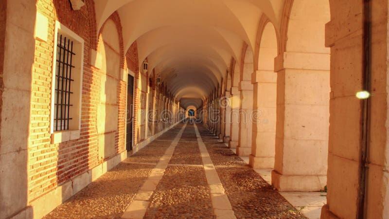 Beautiful Aranjuez Palace stock photos