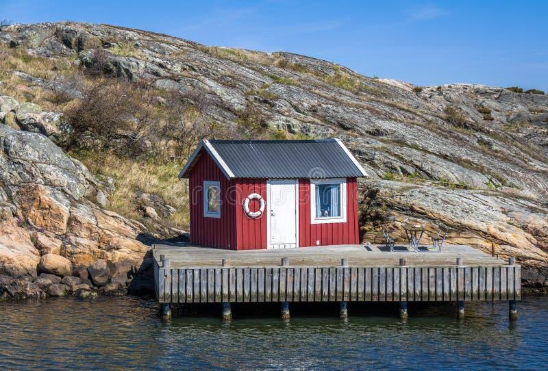 Beautiful archipelago of Gothenburg - Sweden. May 2016 - beautiful archipelago of Gothenburg in Sweden royalty free stock photo