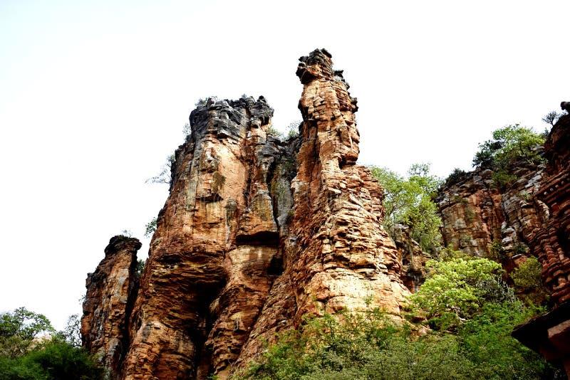 A beautiful architect by nature at Kurnool, Andhra Pradesh in India. A beautiful architect by nature at Kurnool, Andhra Pradesh in royalty free stock photo