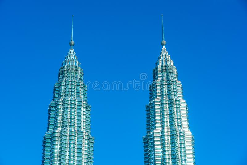 Beautiful architecture building exterior in Kuala Lumpur city in Malaysia royalty free stock image