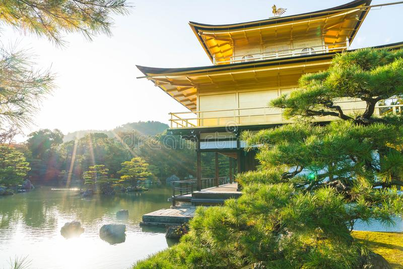 Download Beautiful Architecture At Kinkakuji Temple (The Golden Pavilion) Stock Image - Image of autumn, beauty: 100166699