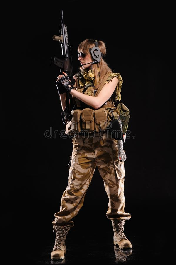 Female sexy soldier 25 HOT