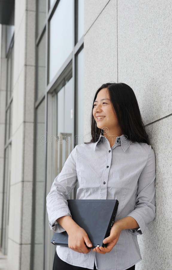 Download Beautiful Asian Businesswoman Stock Photo - Image: 18667896