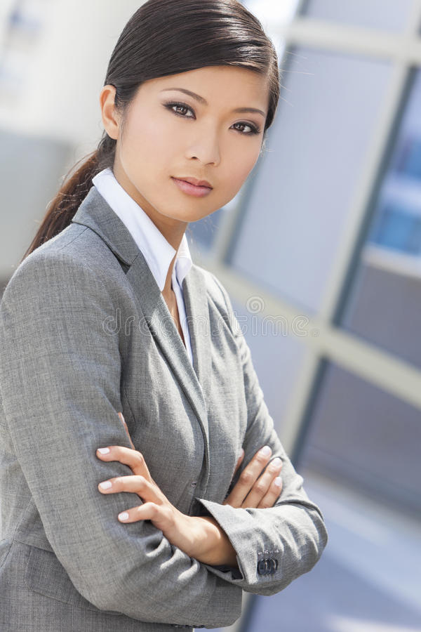 Download Beautiful Asian Chinese Woman Or Businesswoman Stock Image - Image: 29201653