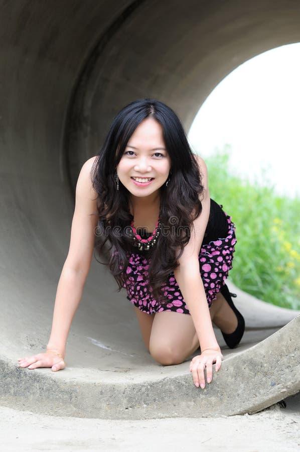 Free Beautiful Asian Girl Royalty Free Stock Photos - 13975588