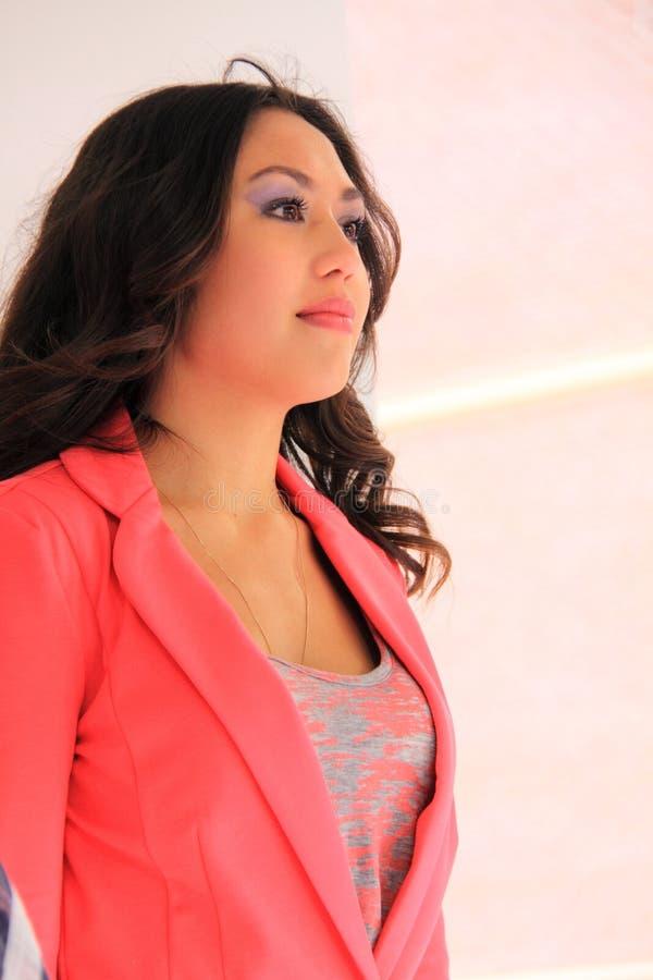 Beautiful asian girl royalty free stock photography
