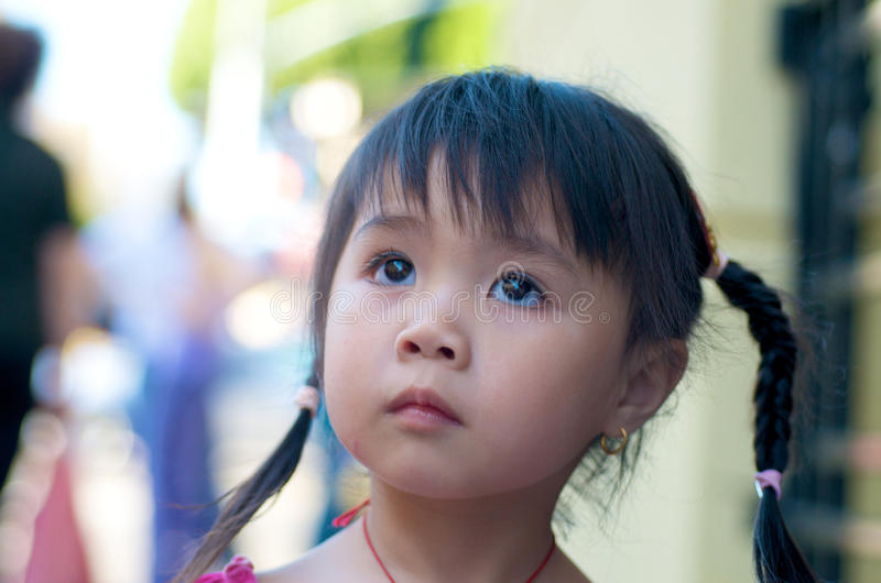 Download Beautiful Asian Kid In Chinatown Editorial Stock Photo - Image: 11584888
