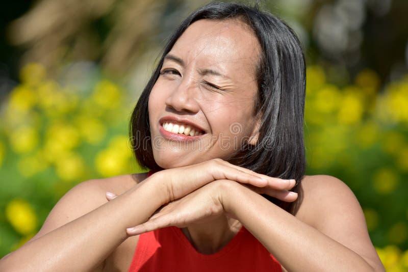 A Beautiful Asian Woman royalty free stock photo