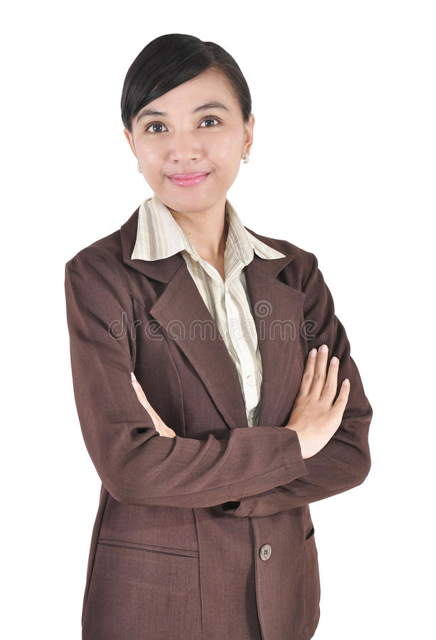 Download Beautiful Asian Young Businesswoman Standing Stock Photo - Image: 24721768