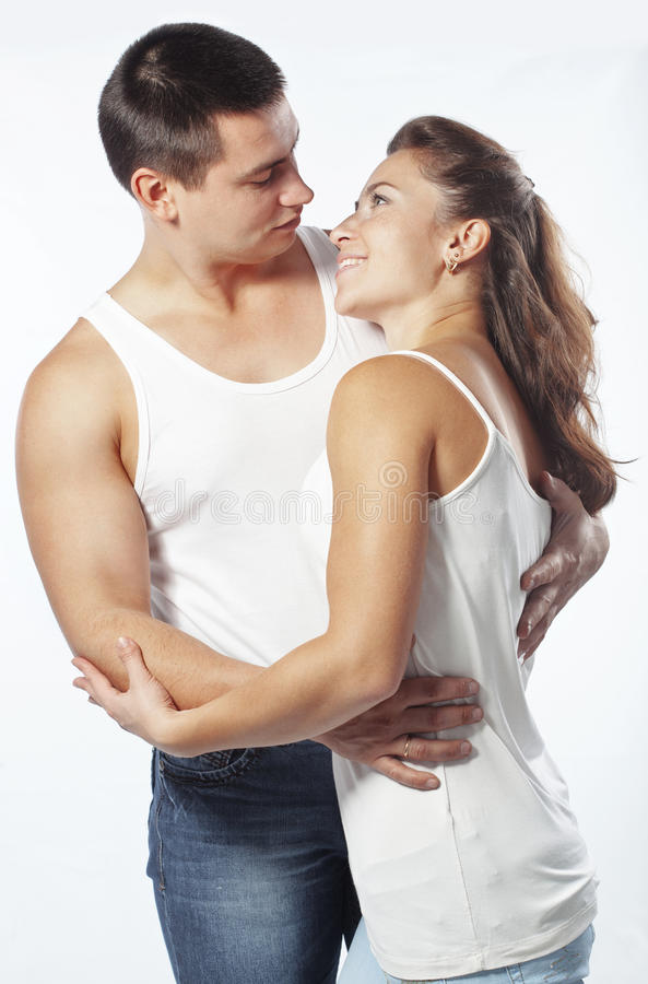 Download Beautiful athletic couple stock image. Image of muscular - 28094709