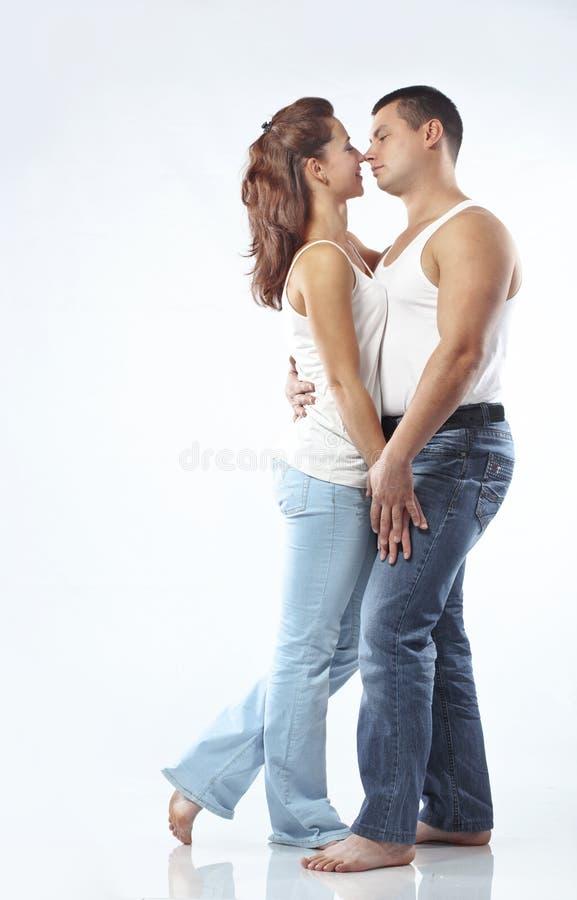 Beautiful Athletic Couple Royalty Free Stock Photo