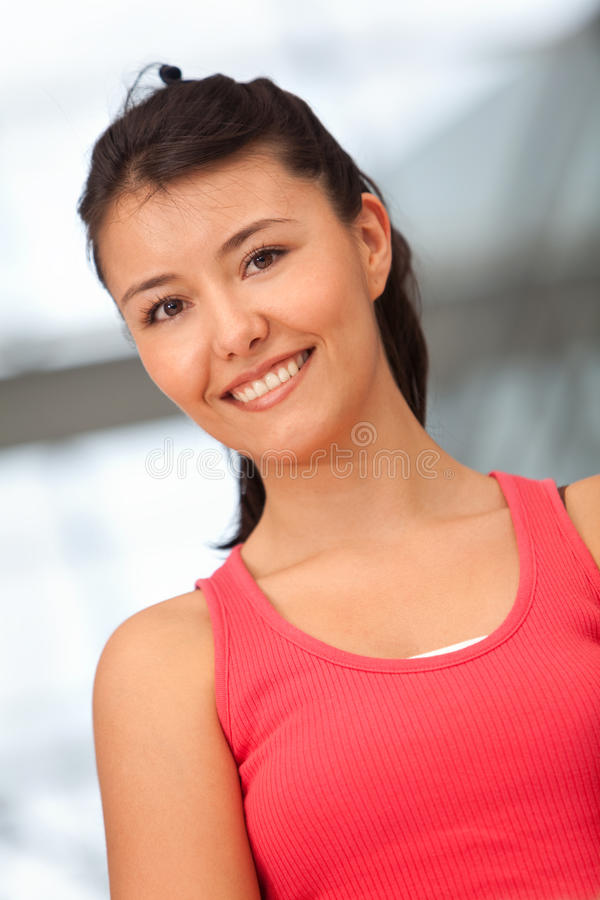 Download Beautiful athletic woman stock image. Image of sportswear - 15243401
