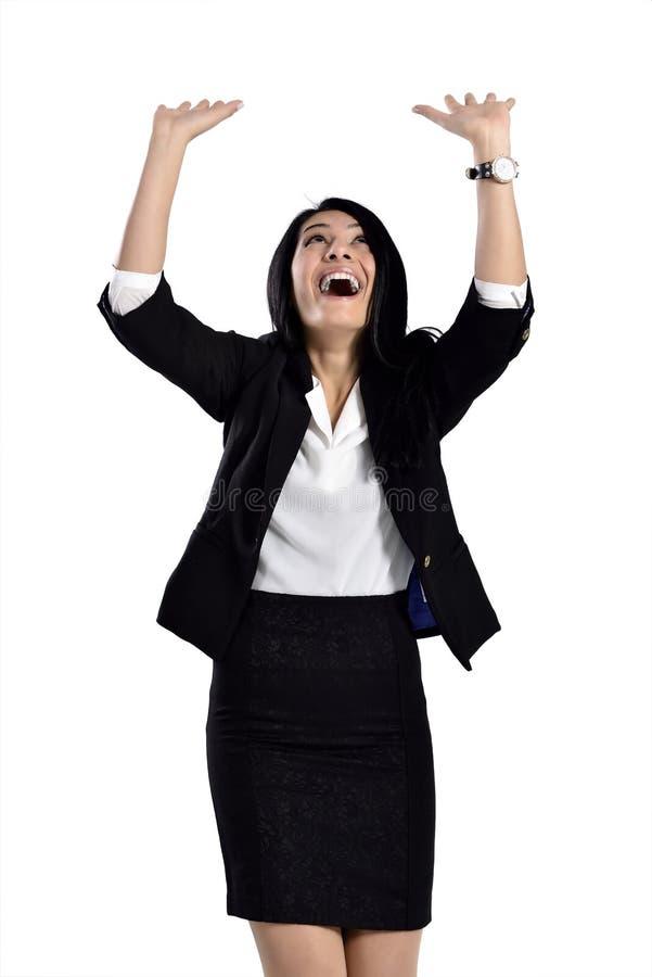 Free Beautiful Attractive Business Women Pushing Stock Image - 36087091