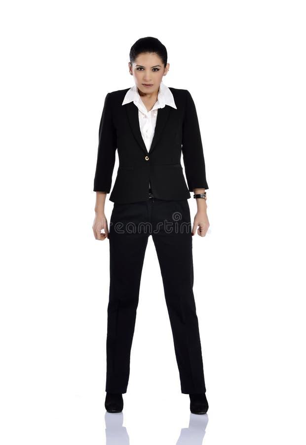 Beautiful attractive businesswoman