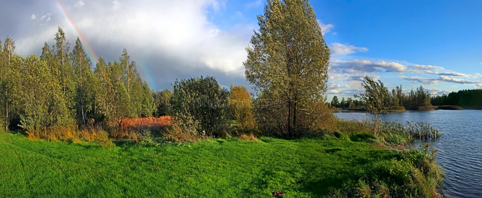 Download Beautiful autumn landscape stock photo. Image of outdoor - 26530374