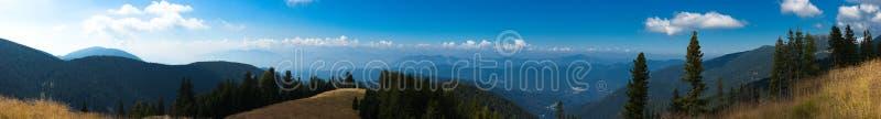 Beautiful autumn mountain landscape royalty free stock photography