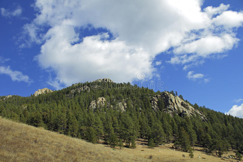 Beautiful autumn mountain landscape in Colorado royalty free stock images